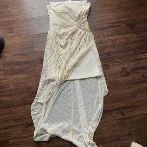 Cute high low prom dress!